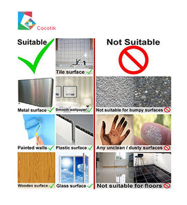 Smart Tile - 4 Pieces Peel and Stick Wall Tiles