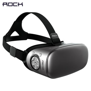 ROCK V6 3D Virtual Reality Glasses Headset
