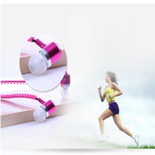 Zipper Tangle Free Earbuds