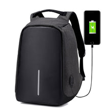 Anti-Theft Water Repellent Backpack with USB Port