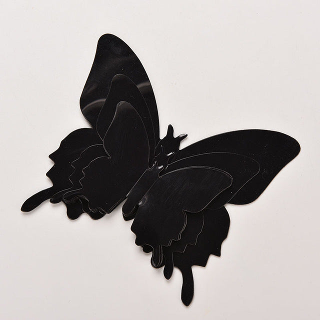 3D Butterfly Wall Decor 12pcs Wall Sticker Home Decor