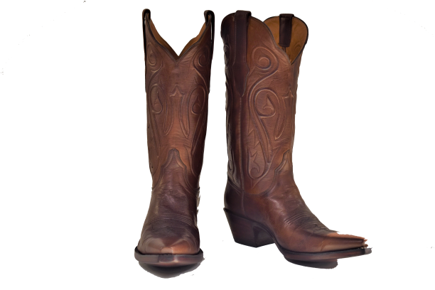 Ladies Burnished Brown Ranch