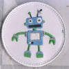 blue green robot
