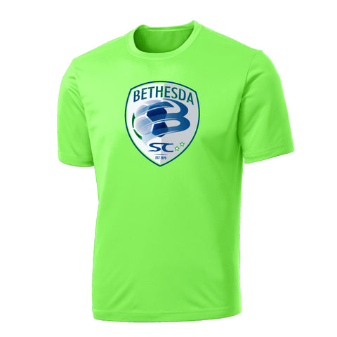 Cotton/Poly Blend Wicking Tee (Adult/Youth)