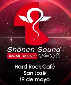 Naruto vrs Dragon Ball by Shonen Sound - Hard Rock Café SJ - Domingo 19 de mayo