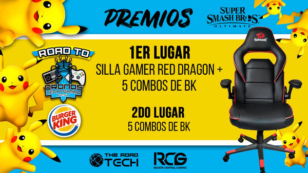 Premio silla gamer BK Smash Bros Ultimate