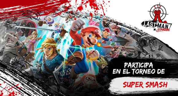 Super Smash Bros Inscripción al torneo del Last Man Standing Costa Rica