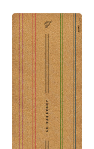 CorkPro ™  - Uh Huh Honey - Performance Cork Yoga Mat (Align)