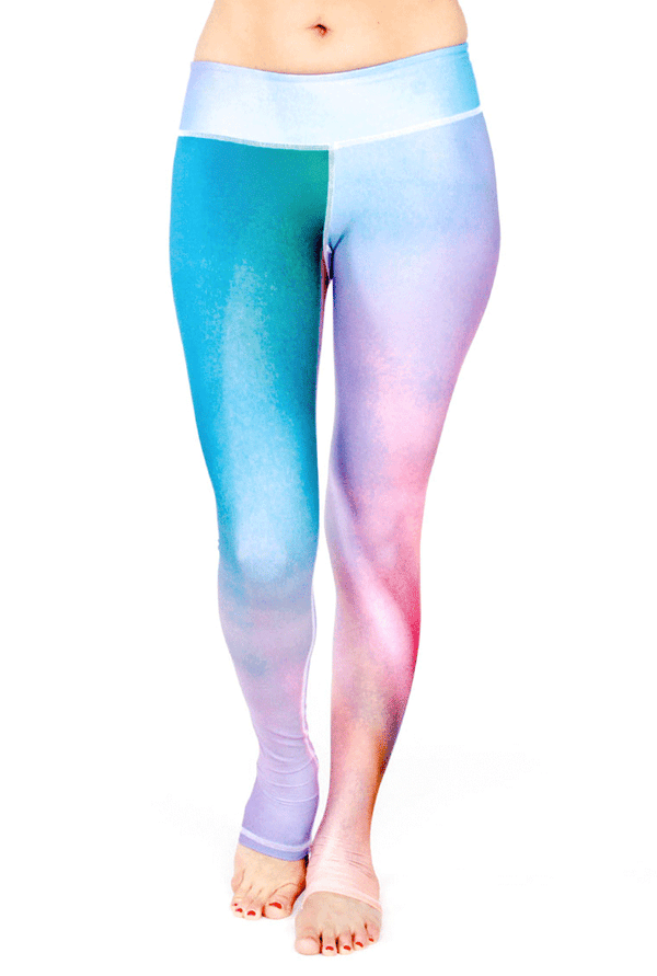 Linea Leggings - Azure