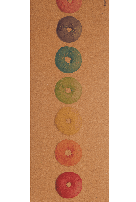 CORKPro Mat - Align Collection - Chakra Donuts