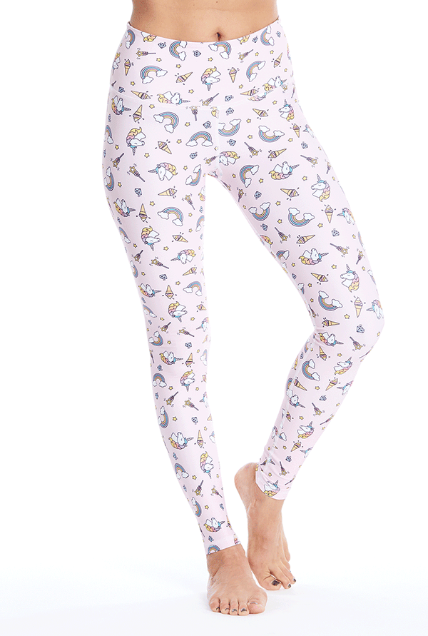Unicorn Leggings - Pink