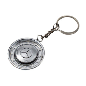 Hubcap Keychain for W114 W115 W123 W116 Mercedes