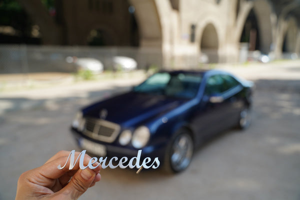 Mercedes grill badge emblem