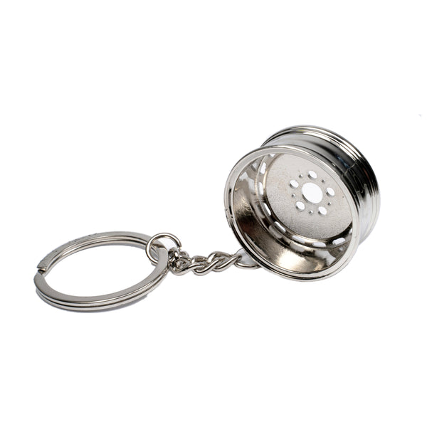 Gullideckel keyring for W201 W124 W126 R107 R129 keychain Mercedes Benz accessories alloy wheel