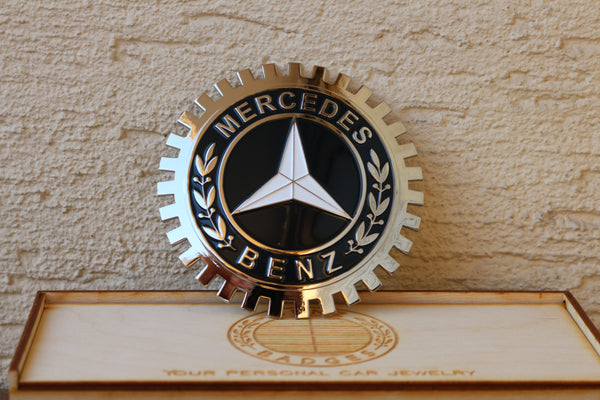 Mercedes Benz badge emblem