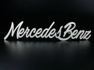 Mercedes Benz grille badge emblem for W124 W201 W123 W126 W140 W202