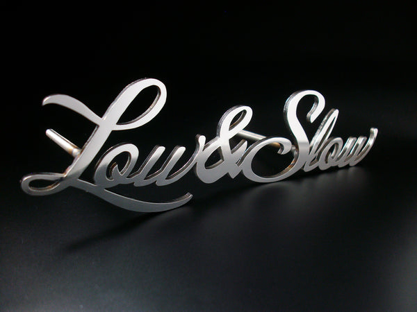 Low & Slow emblem badge