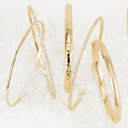 Hammered Essential Bangle