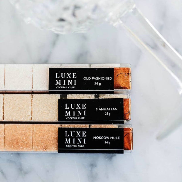 Old Fashioned Mini-Lux Cocktail Cubes