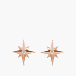 Diamond Compass Studs