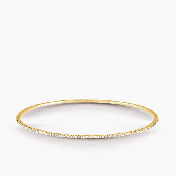 Thread Diamond Bangle