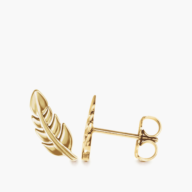 Feather Studs
