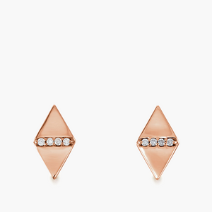 Diamond Kite Studs