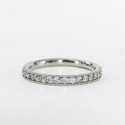 Lizzie Eternity Set Diamond Band