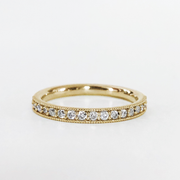 Lizzie Half Set Diamond Band