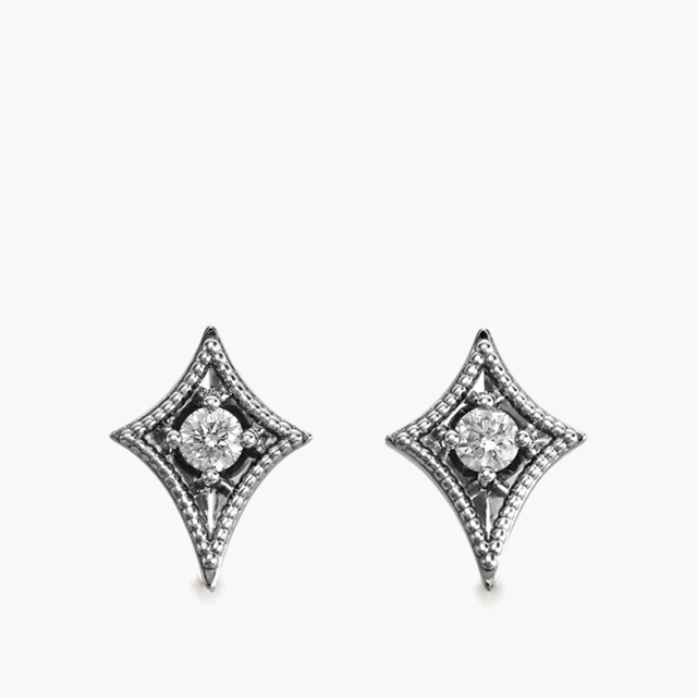 North Star Diamond Studs