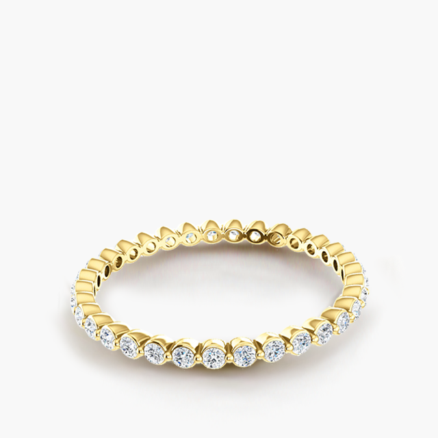 Baby Dewdrop Diamond Eternity Band