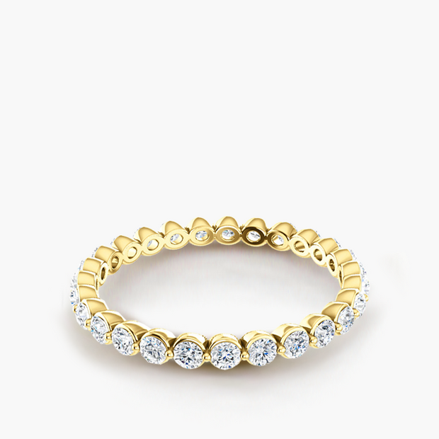 Dewdrop Diamond Eternity Band
