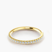 Thread Diamond Eternity Band
