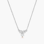 Diamond Trio Necklace
