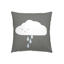 Happy Cloud Reversible Throw Pillow