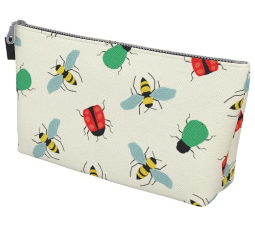 The Bugs & The Bees Toiletry Bag