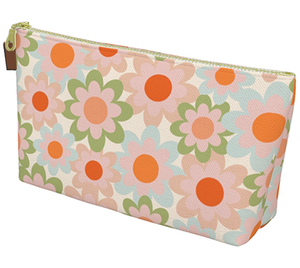 Vintage Flowers Toiletry Bag