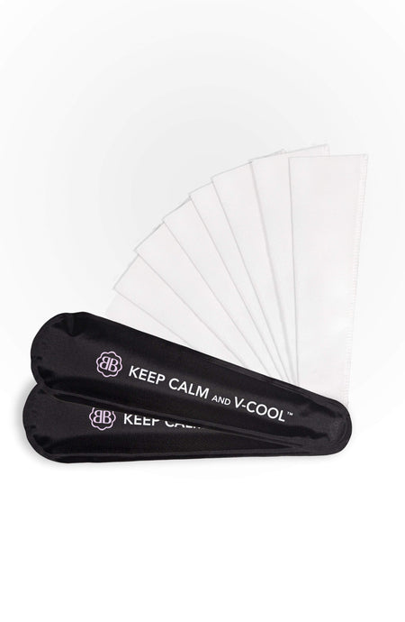 Belly Bandit Black V-Cool - Reusable Hot & Cold Perineal Gel Pack