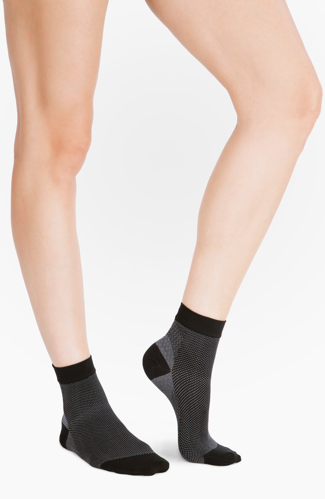 Belly Bandit Socks Black/ Grey / Size 1 Belly Bandit® Compression Ankle Sock