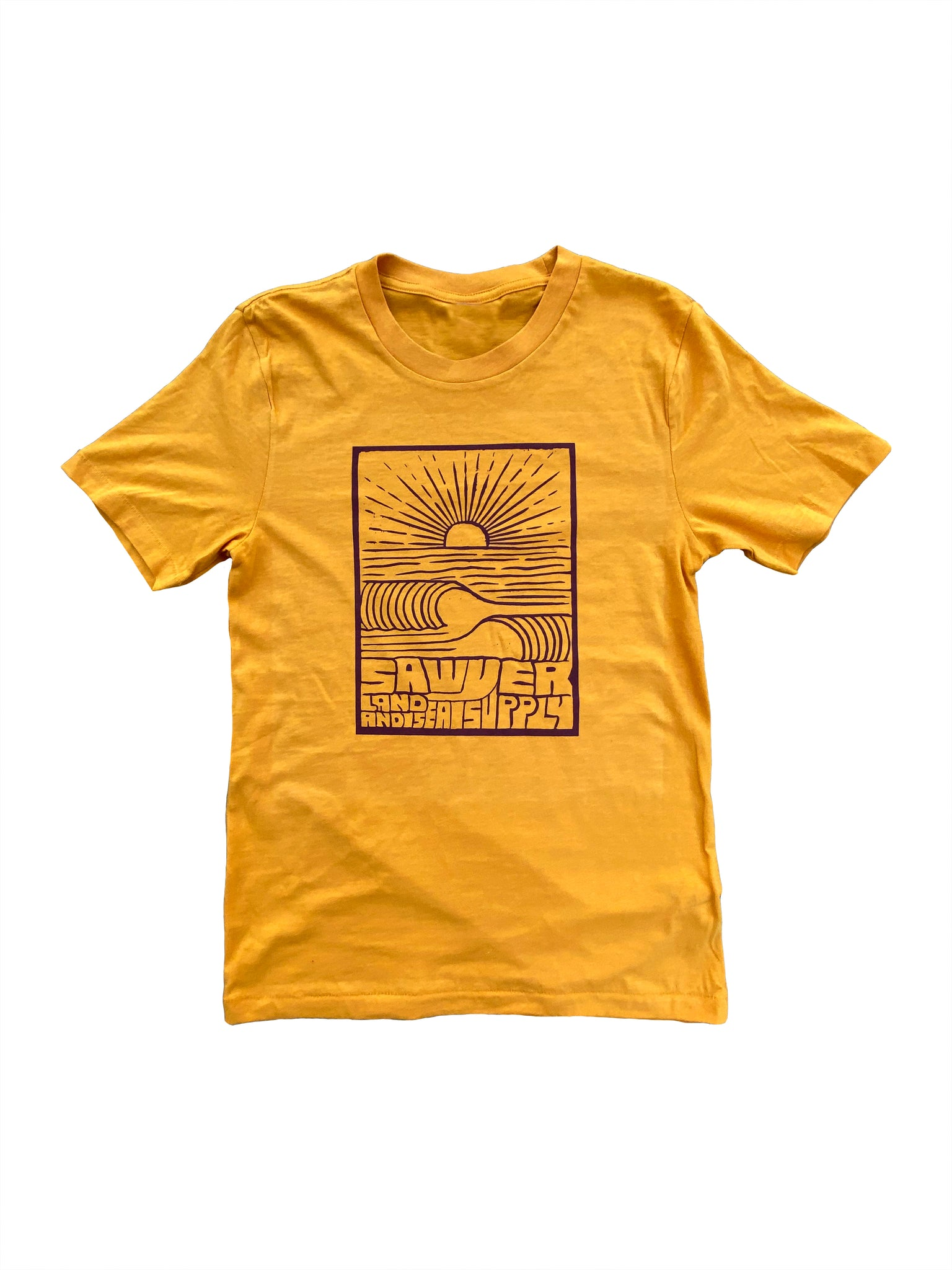 SUN SHINES IN GOLD T