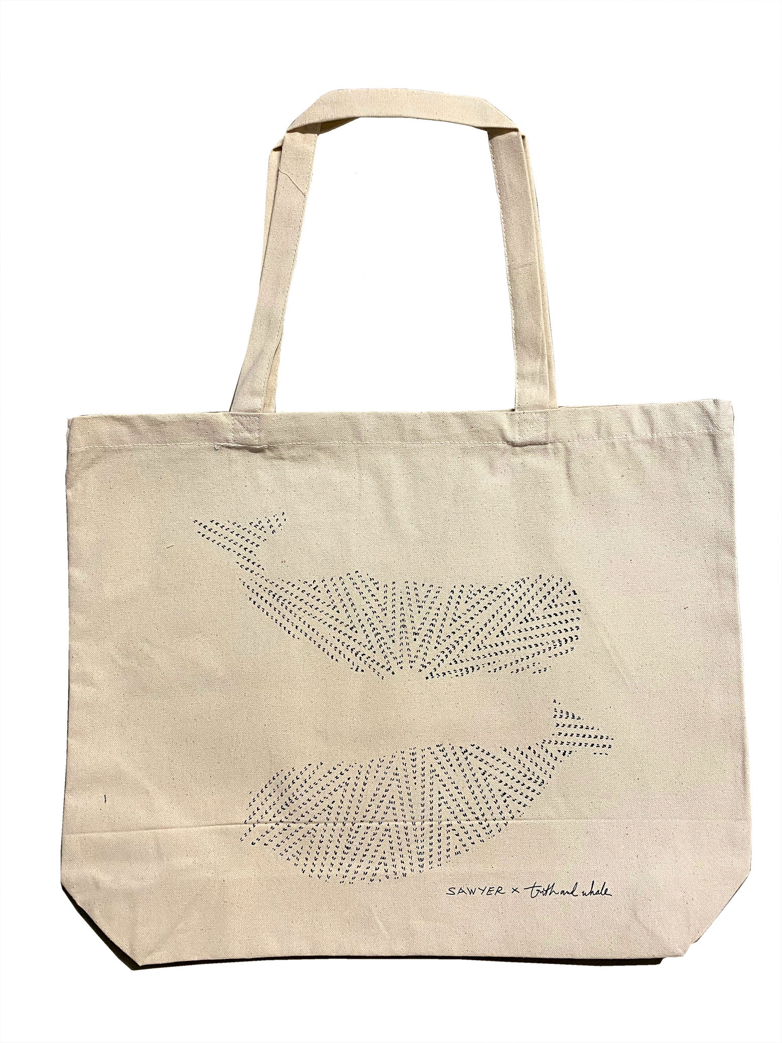 SAWYER x TRUTH & WHALE DISCO TOTE