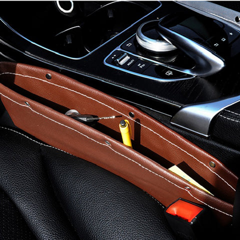 "Car Seat ""Gap Filler"" Pocket Storage Bag"