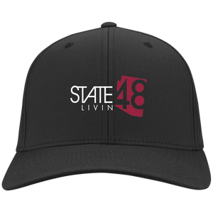 State 48 Livin Black Flex Fit Hat