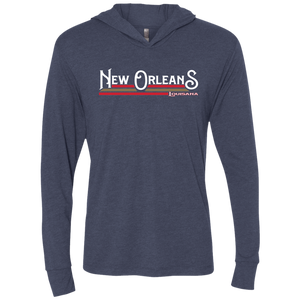 New Orleans Pels Home Unisex Triblend LS Hooded T-Shirt