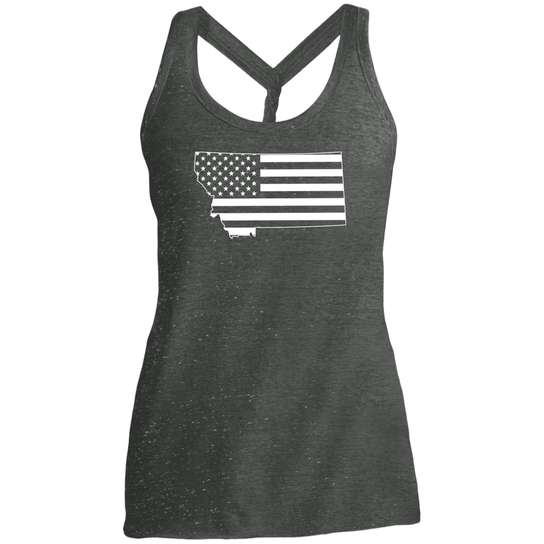 Montana American  Ladies' Cosmic Twist Back Tank
