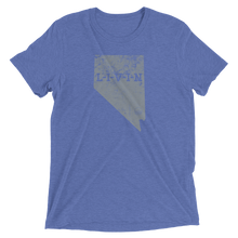 Nevada LIVIN Grey Logo Short sleeve t-shirt (10 colors available) - State Of Livin