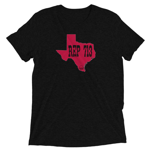 Houston REP 713 Unisex Short sleeve t-shirt - State Of Livin