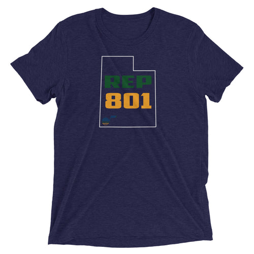 Salt Lake City REP 801 Short sleeve t-shirt - State Of Livin