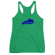 Kentucky LIVIN Wildcat Blue Women's Racerback Tank (7 colors available) - State Of Livin
