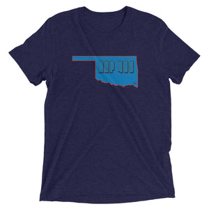 Oklahoma City REP 405 Unisex Short sleeve t-shirt - State Of Livin